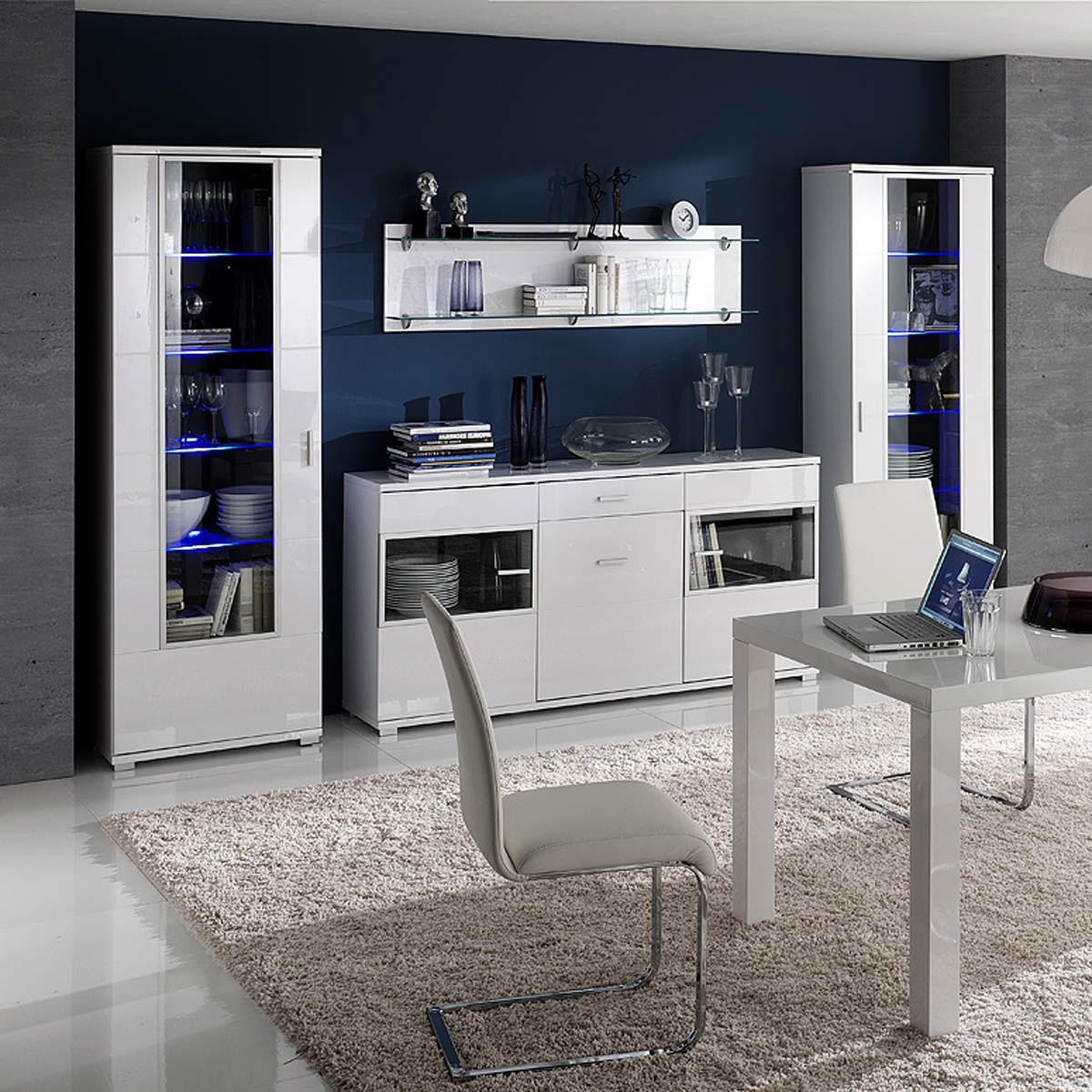 sideboard pearl in wei wei hochglanz. Black Bedroom Furniture Sets. Home Design Ideas