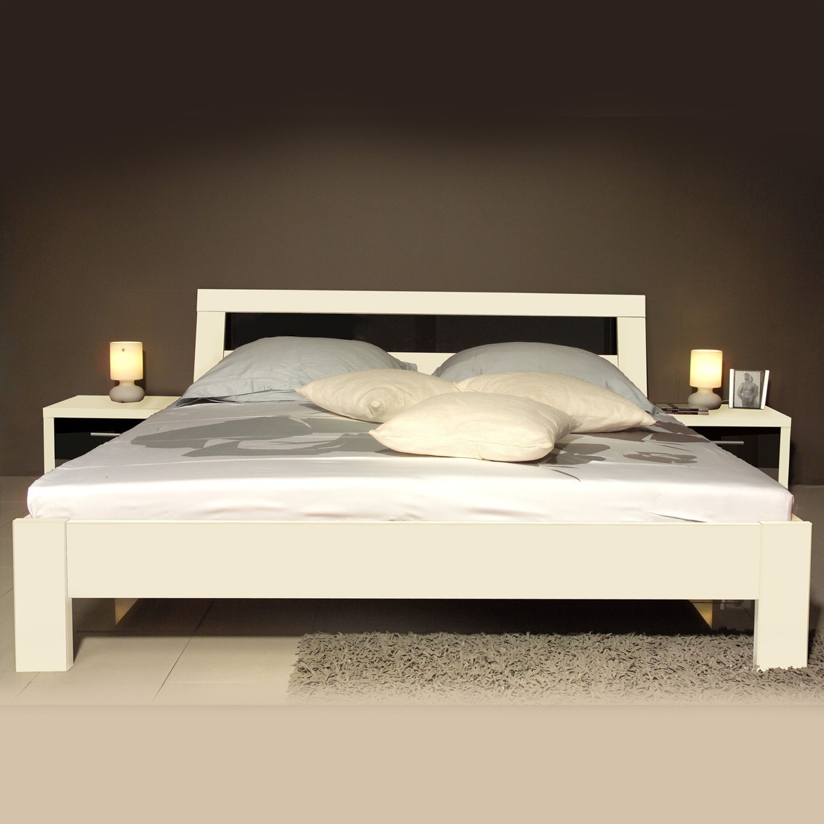 bett mit stauraum 140x200 singlebett bett mit schubladen stauraum kiefer wei 140x200 ebay bett. Black Bedroom Furniture Sets. Home Design Ideas
