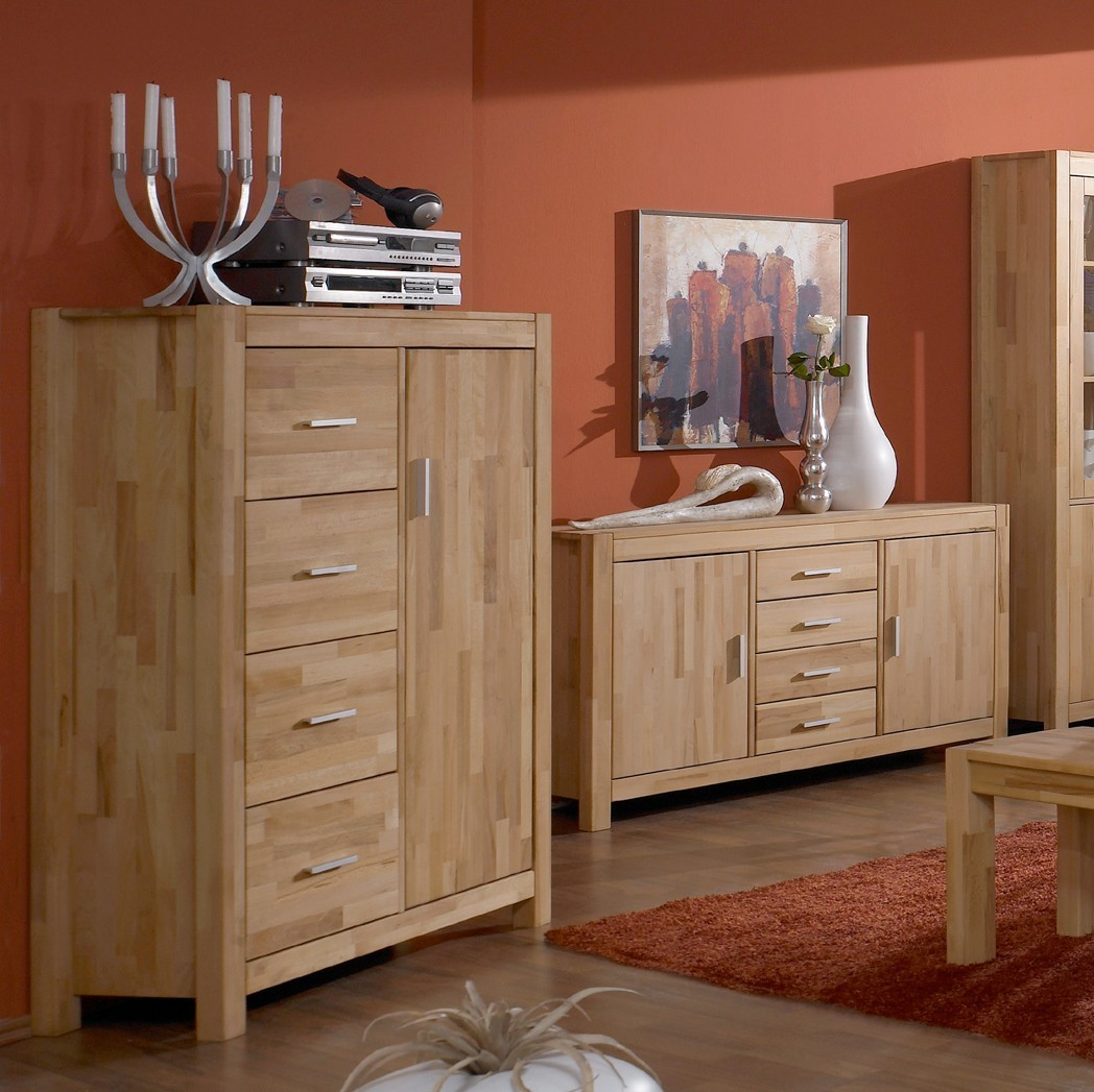 highboard linz kernbuche massiv ge lt. Black Bedroom Furniture Sets. Home Design Ideas