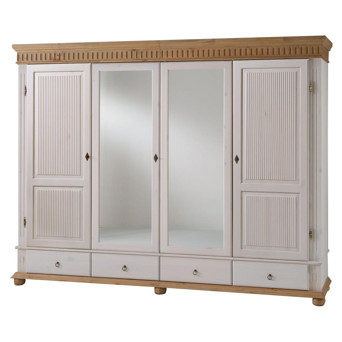 kleiderschrank massivholz antik wei haus design und m bel ideen. Black Bedroom Furniture Sets. Home Design Ideas