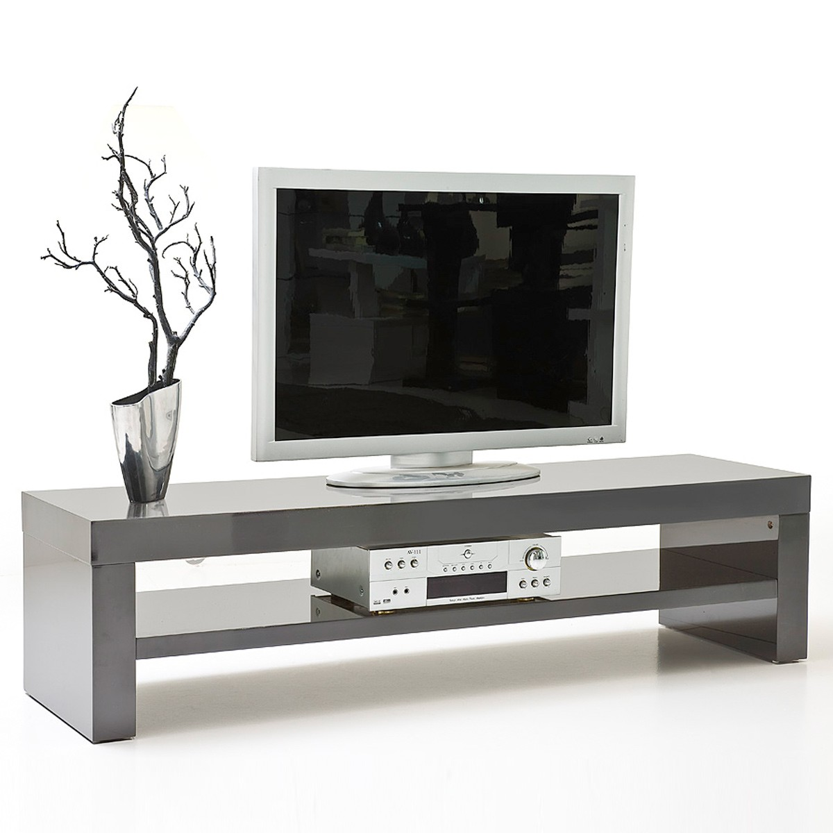 tv lowboard grau best tvlowboard tvboard eiche nbgrau with tv lowboard grau good full size of. Black Bedroom Furniture Sets. Home Design Ideas